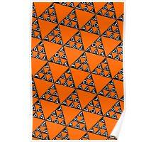 Max Ada Zoe tessellation (Triomino) Poster