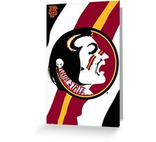 Fighting Seminoles! Greeting Card