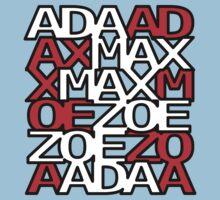 Max Ada Zoe tessellation (Amazed) Kids Clothes