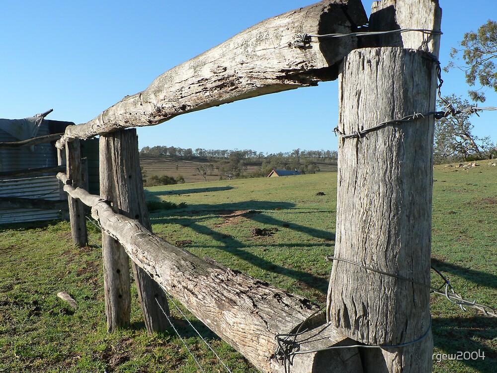 Farm Fence by Greg Halliday
