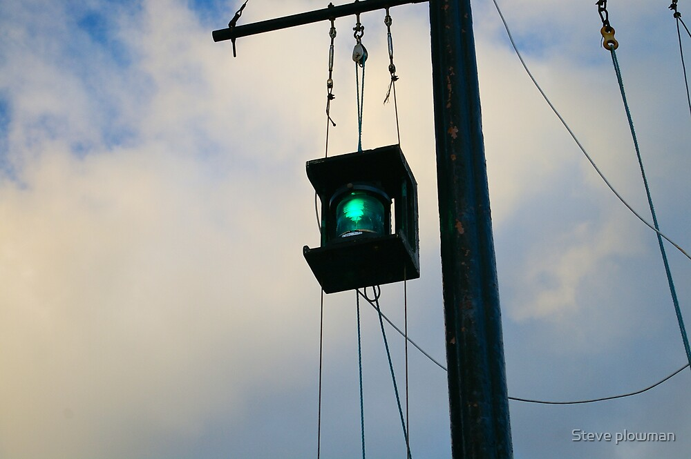 The green light 2 by Steve plowman