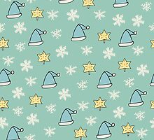 Christmas pattern by ulyanaandreeva