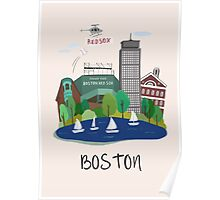 City Art Boston  Poster