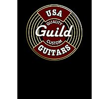 USA Guild Vintage Photographic Print