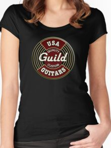 USA Guild Vintage Women's Fitted Scoop T-Shirt