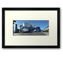Walt Disney Concert Hall LA Framed Print