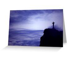 Christ the Redeemer Statue - Rio de Janeiro Greeting Card