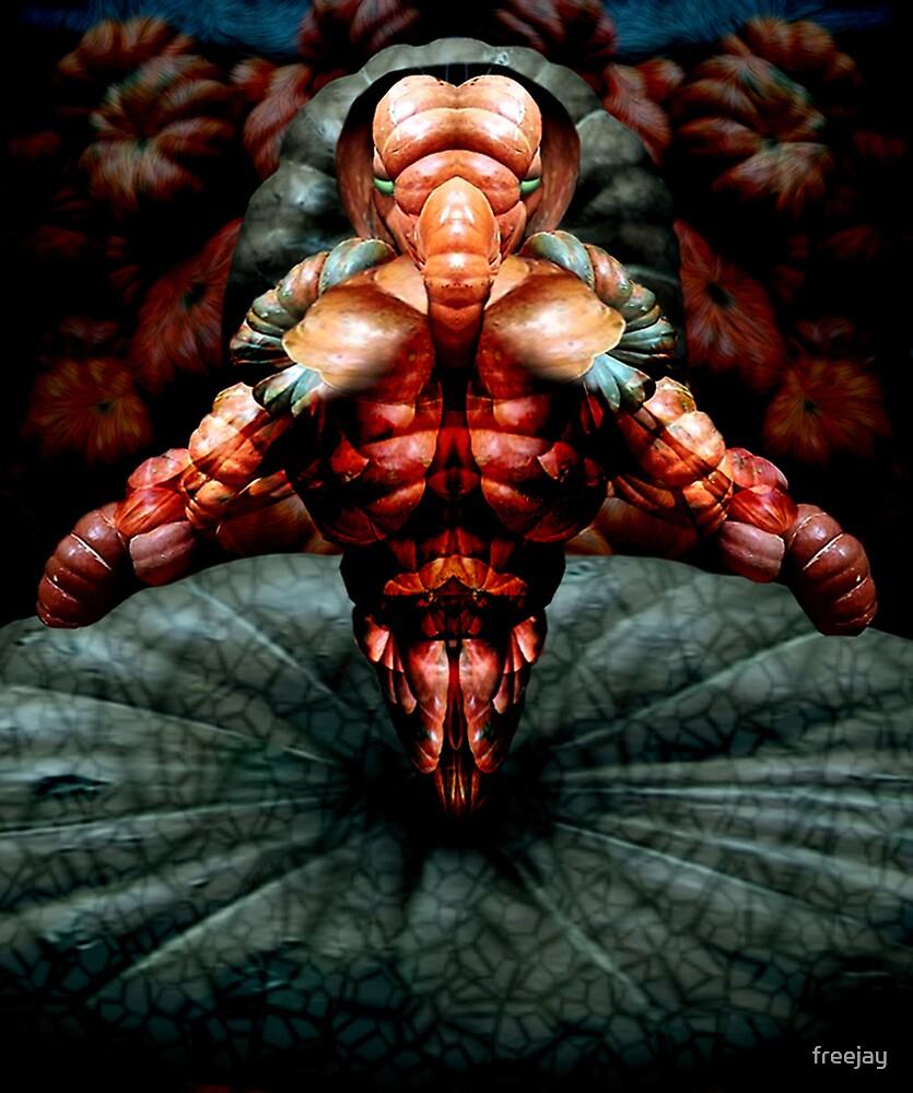 Alien Pumpkin by freejay