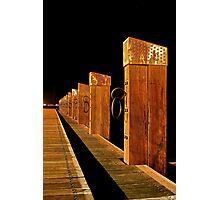 """""""The Memorial Moorings"""" Photographic Print"""