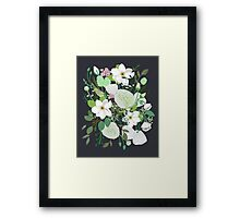 Floral Forest Framed Print