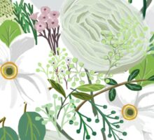 Floral Forest Sticker