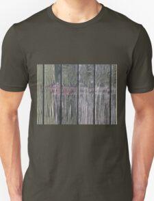 Grunge old wood background Unisex T-Shirt