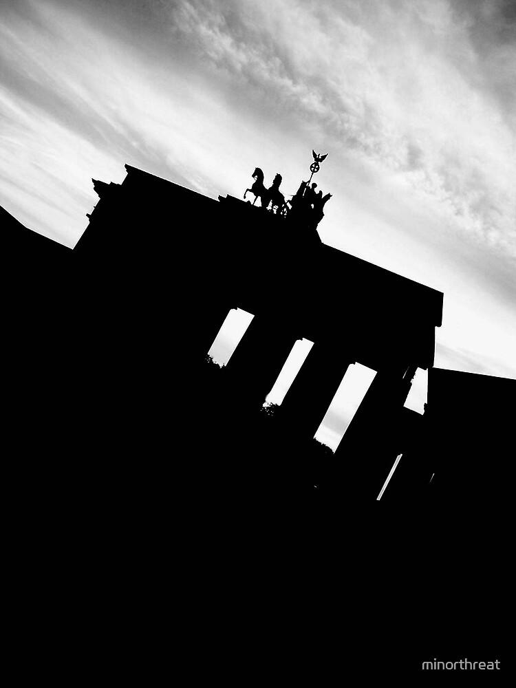 Brandenburg Gate by minorthreat