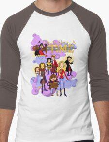 Once Upon An Adventure Time! Men's Baseball ¾ T-Shirt