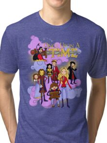 Once Upon An Adventure Time! Tri-blend T-Shirt