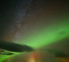 Northern Lights from Iceland  by MCZAJKOWSKI
