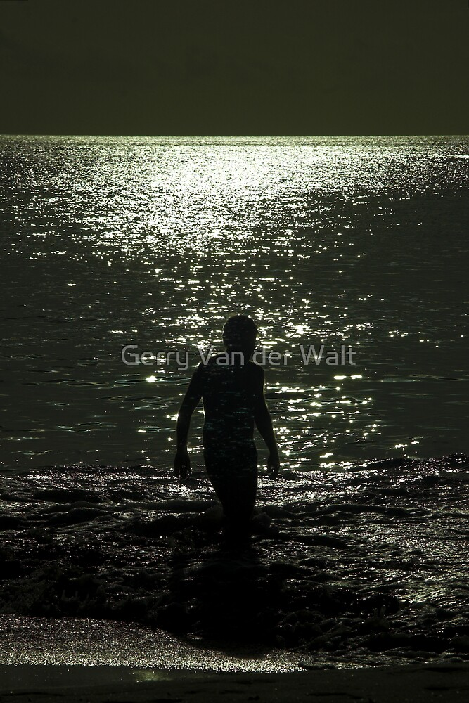 Beach Ghost by Gerry Van der Walt