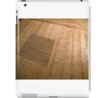 A beautiful hardwood classical floor  iPad Case/Skin