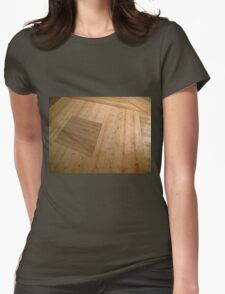 A beautiful hardwood classical floor  Womens Fitted T-Shirt
