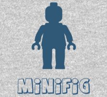 Minifig [Navy Blue] Kids Clothes