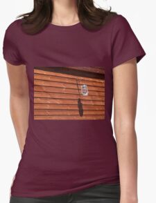 Classical oil lamp Womens Fitted T-Shirt