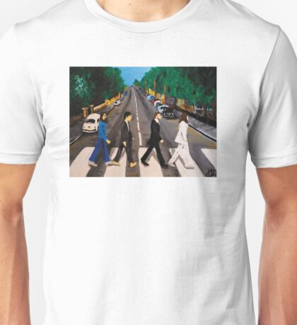 Abbey Road - The Beatles - Canvasart Unisex T-Shirt