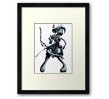 Archer Statue Framed Print