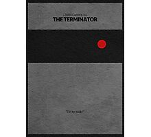 The Terminator Photographic Print