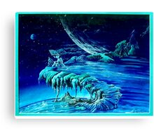 Book of Waves Canvas Print