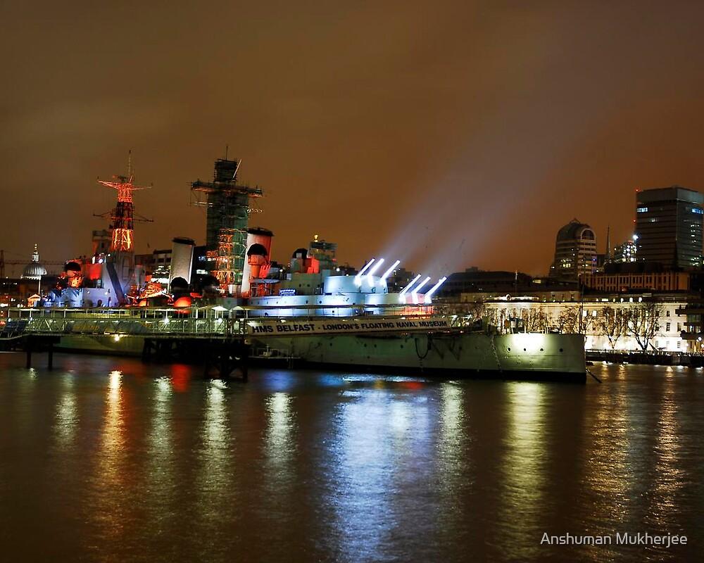 HMS Belfast by Anshuman Mukherjee