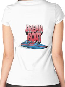 Harry Styles Dream Boat  Women's Fitted Scoop T-Shirt