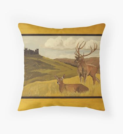"""""""Derbyshire View"""" ART FRAUD EXPOSED! Throw Pillow"""