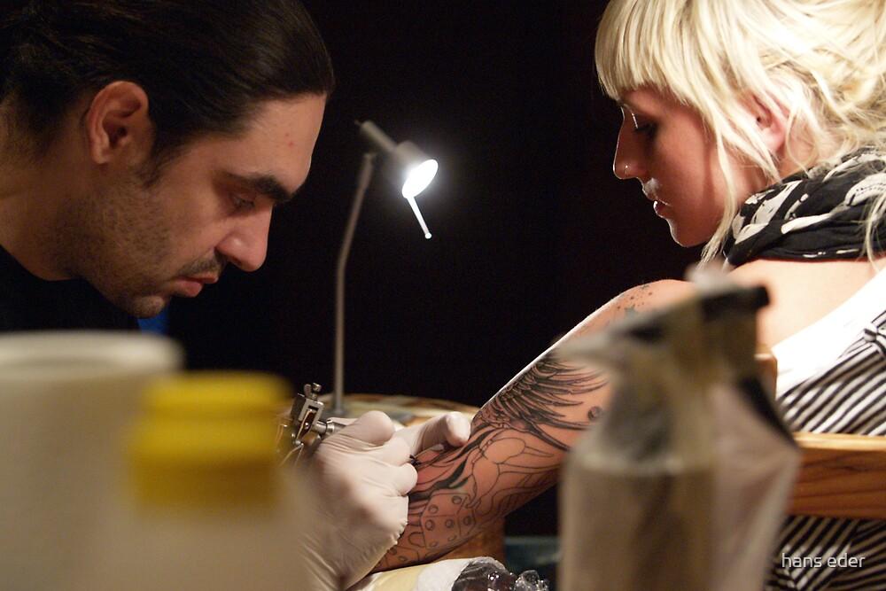 sarahs tatoo by hans eder