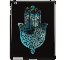 Blue Geo Hamsa iPad Case/Skin