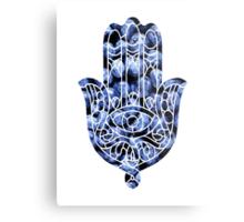 Blueberry Hamsa Metal Print