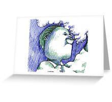 Trippin Greeting Card