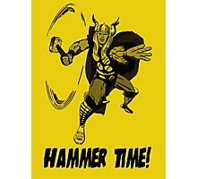 The Mighty Thor - Hammer Time! Photographic Print