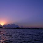 sunrise on Biscayne Bay 3 by nancy dixon