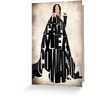Severus Snape Greeting Card