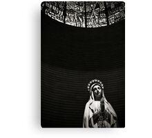 Virgin Mary at Porto Sant Elpidio, Italy Canvas Print