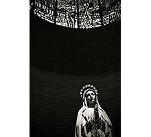 Virgin Mary at Porto Sant Elpidio, Italy Photographic Print