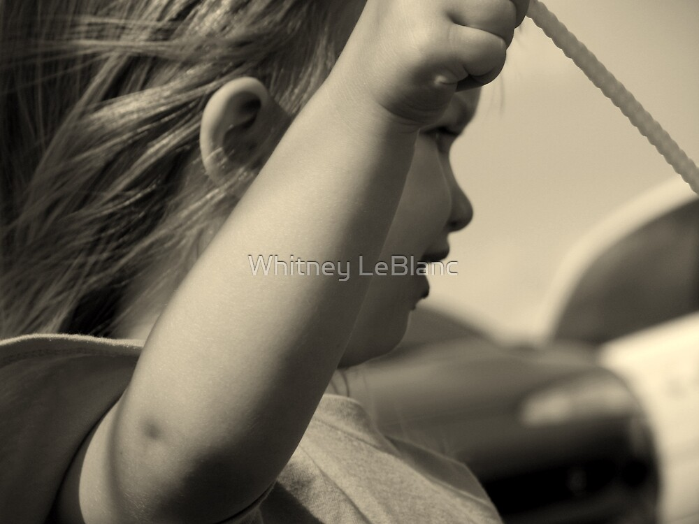 blowing bubbles by Whitney LeBlanc