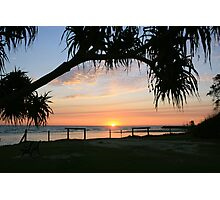 good morning kingscliff ... Photographic Print