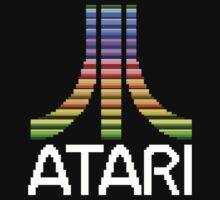 Atari - Original Screen Logo by noxband