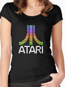 Atari - Original Screen Logo Women's Fitted Scoop T-Shirt