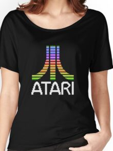 Atari - Original Screen Logo Women's Relaxed Fit T-Shirt