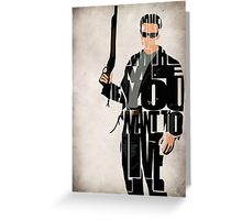 Terminator Greeting Card