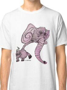 Pink Elephant Classic T-Shirt