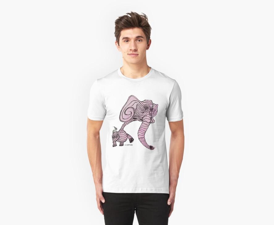 Pink Elephant by Hoffard