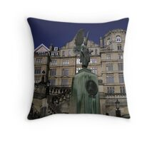 Grand Building in Bath, England Throw Pillow